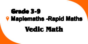 Online Maths Classes Category Vedic Maths