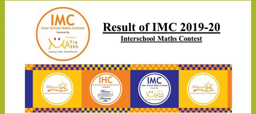 Results of IMC Math Olympiad Competition by Winaum Learning